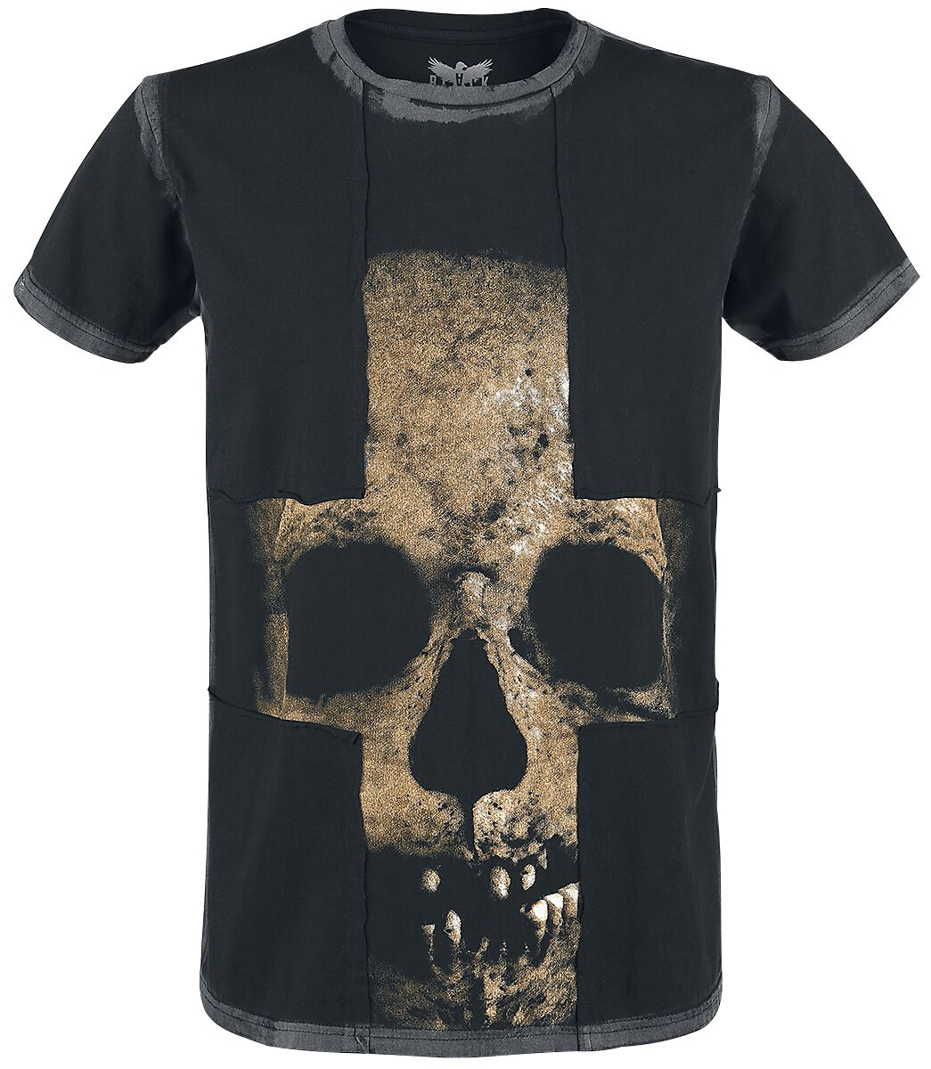 Image of   Black Premium by EMP Absence Of Light T-Shirt sort