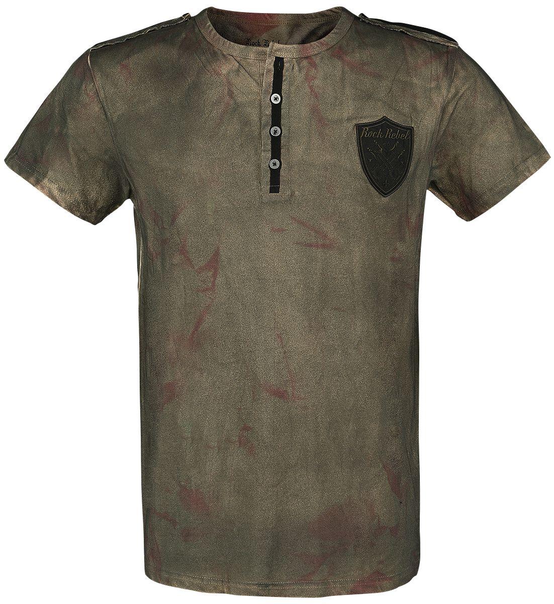 Image of   Rock Rebel by EMP Back For More T-Shirt brun