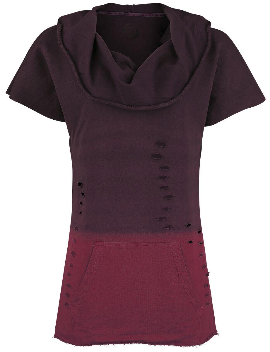 Image of   RED by EMP Colorful Delusion Girlie trøje sort-bordeaux