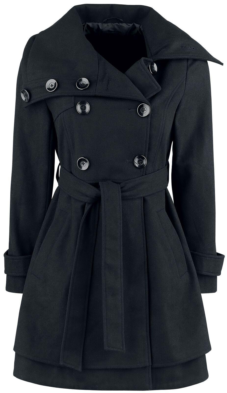 Image of   Black Premium by EMP Bleed For Me Girlie frakke sort