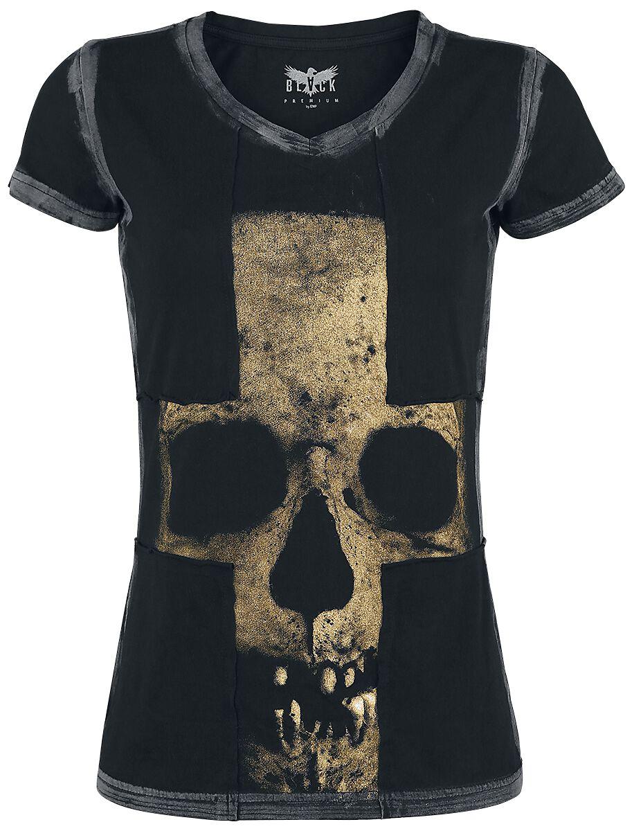 Image of   Black Premium by EMP Absence Of Light Girlie trøje sort
