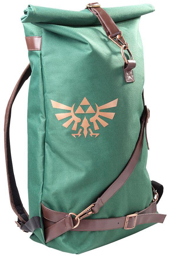 Image of   The Legend Of Zelda Rygsæk grøn