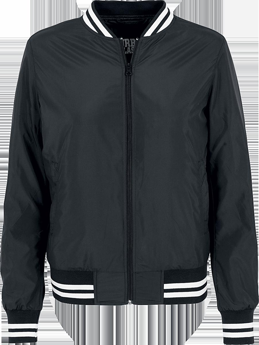 Urban Classics Ladies Nylon College Jacket Kurtka damska czarny