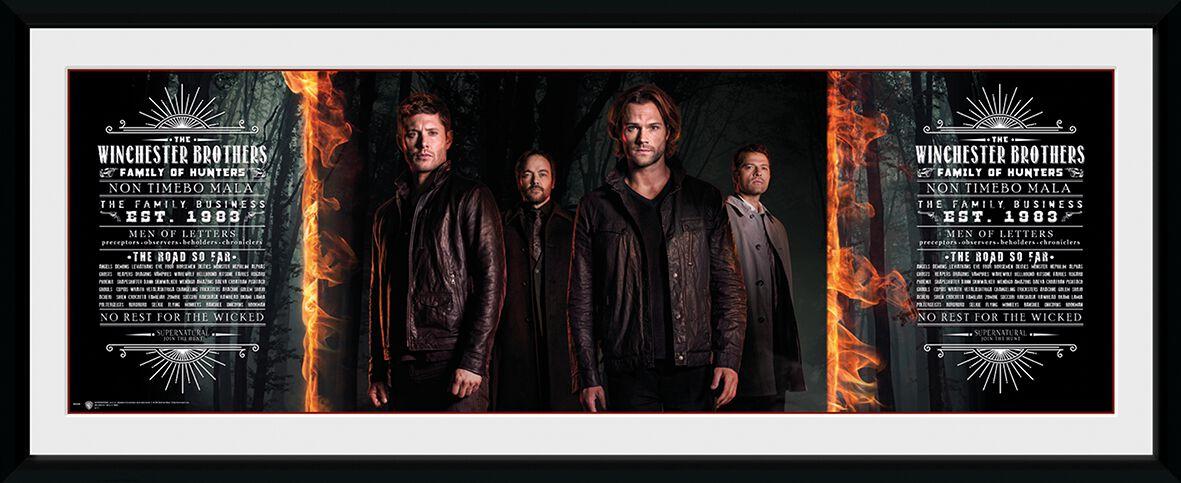 Image of   Supernatural Brothers Indrammet billede Standard