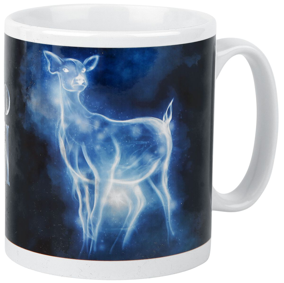 Image of   Harry Potter Expecto Patronum Krus hvid