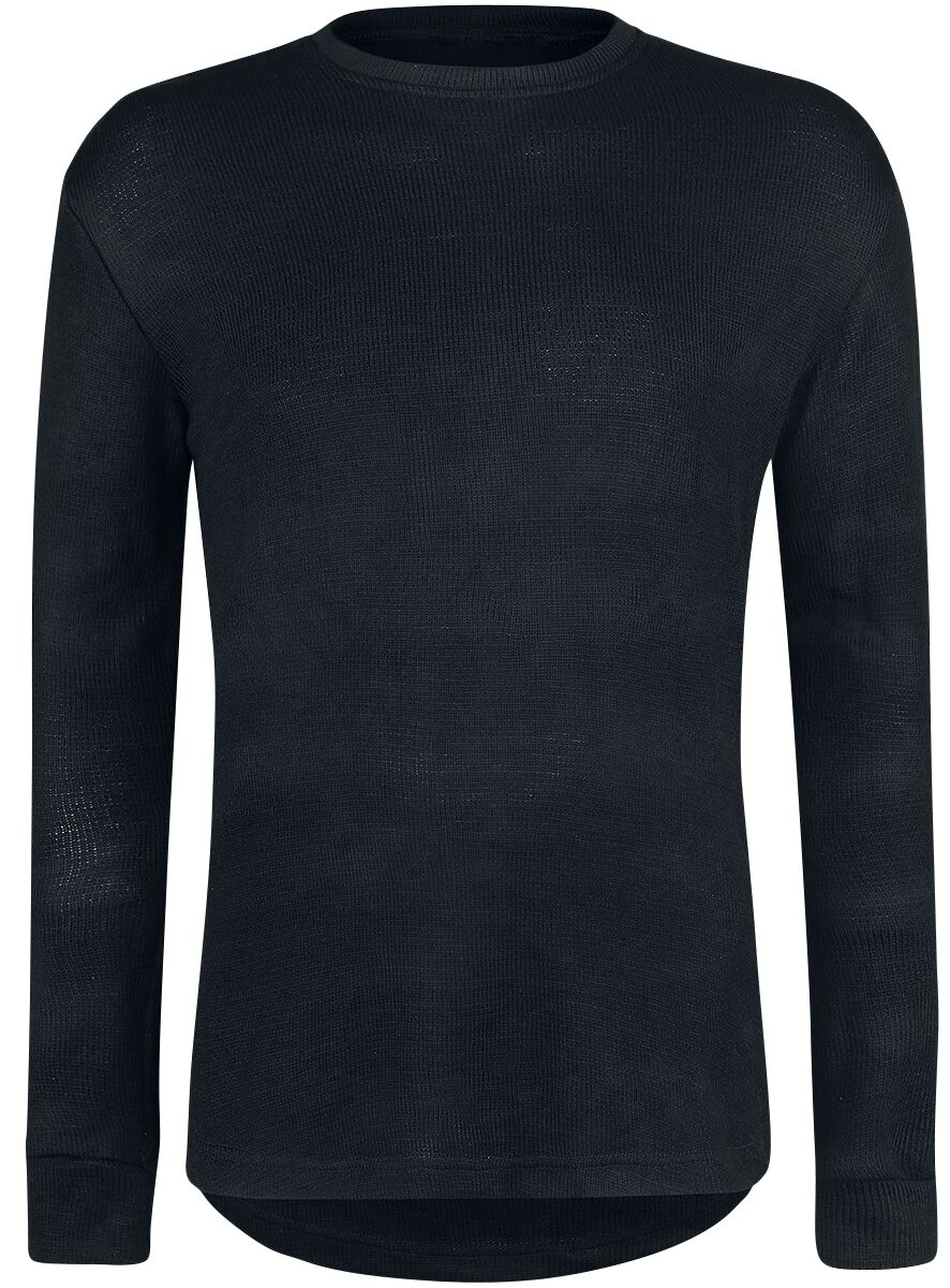 Image of   Gothicana by EMP Knitted Basic Sweater Sweatshirt sort