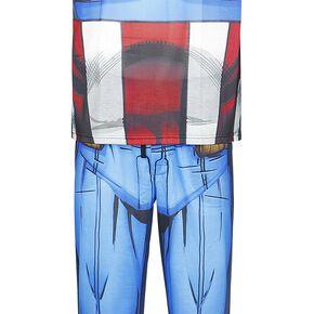 Captain America Cosplay Pyjama multicolore