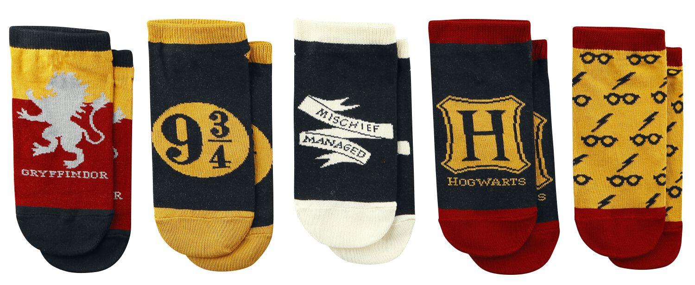 Socken - Harry Potter Symbole Socken multicolor  - Onlineshop EMP