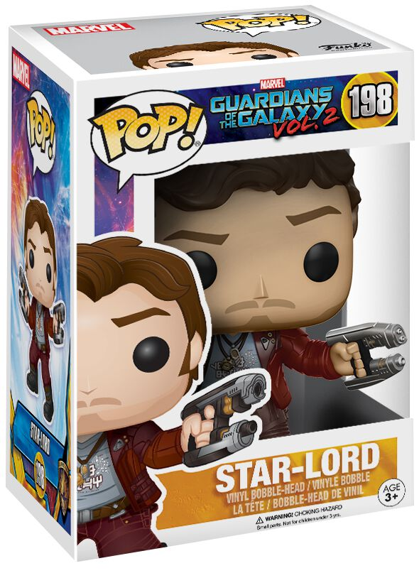 Image of   Guardians Of The Galaxy 2 - Star-Lord Vinyl Figure 198 (Chase mulig) Samlefigur Standard