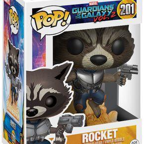 Figurine Rocket Raccoon Les Gardiens de la Galaxie Vol. 2 Funko Pop!