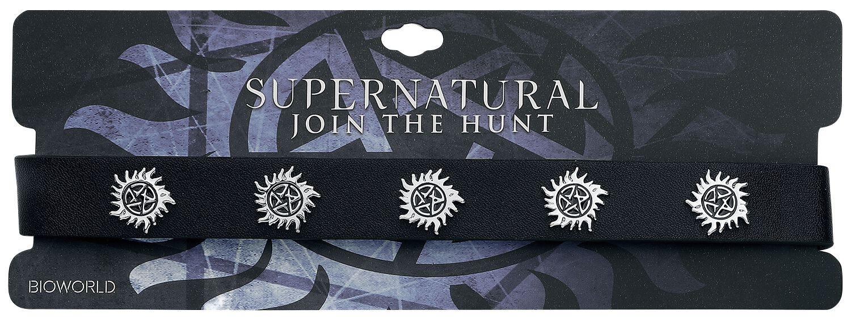 Image of   Supernatural Anti Possession Halsbånd sort-sølv