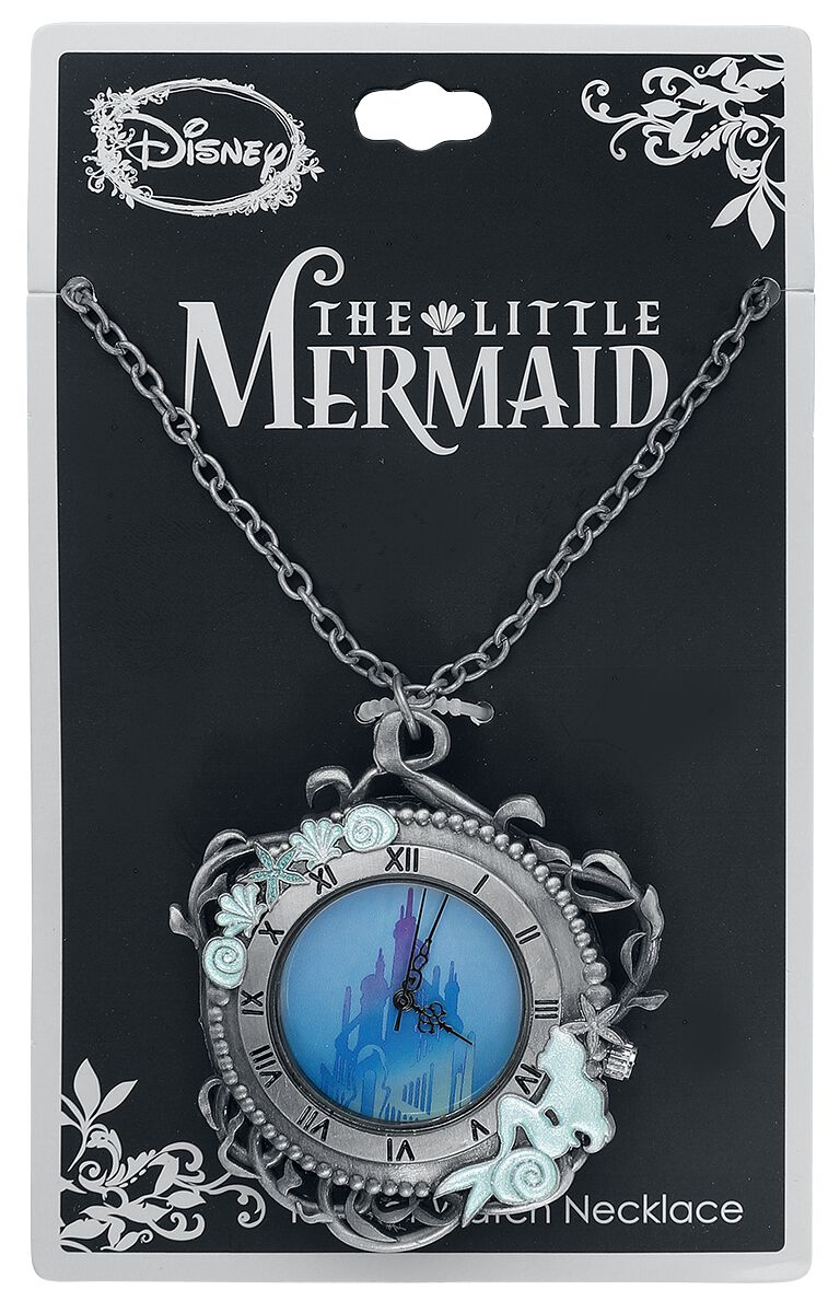Arielle die Meerjungfrau Castle Pocket Watch Ke...