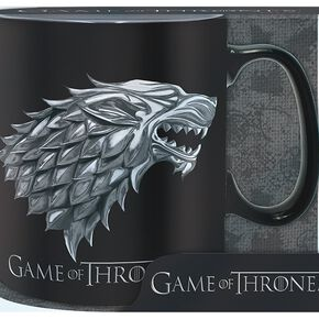 Game Of Thrones Stark - Winter Is Coming Mug en céramique noir