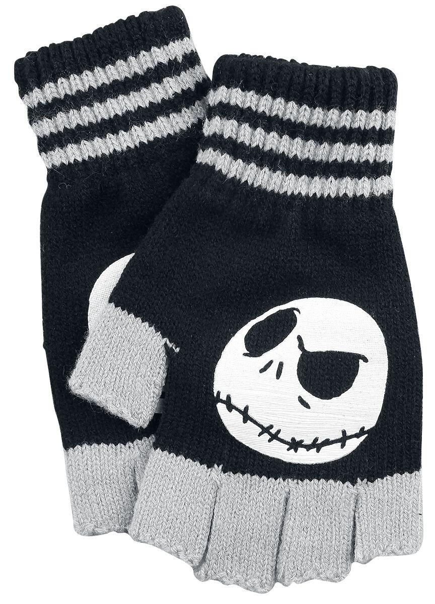 Image of   The Nightmare Before Christmas Jack Fingerløse handsker sort-grå