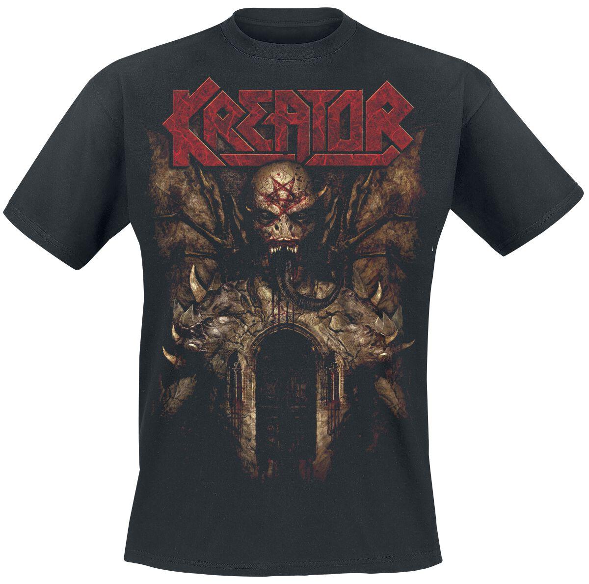 Zespoły - Koszulki - T-Shirt Kreator Gods of Violence T-Shirt czarny - 349153