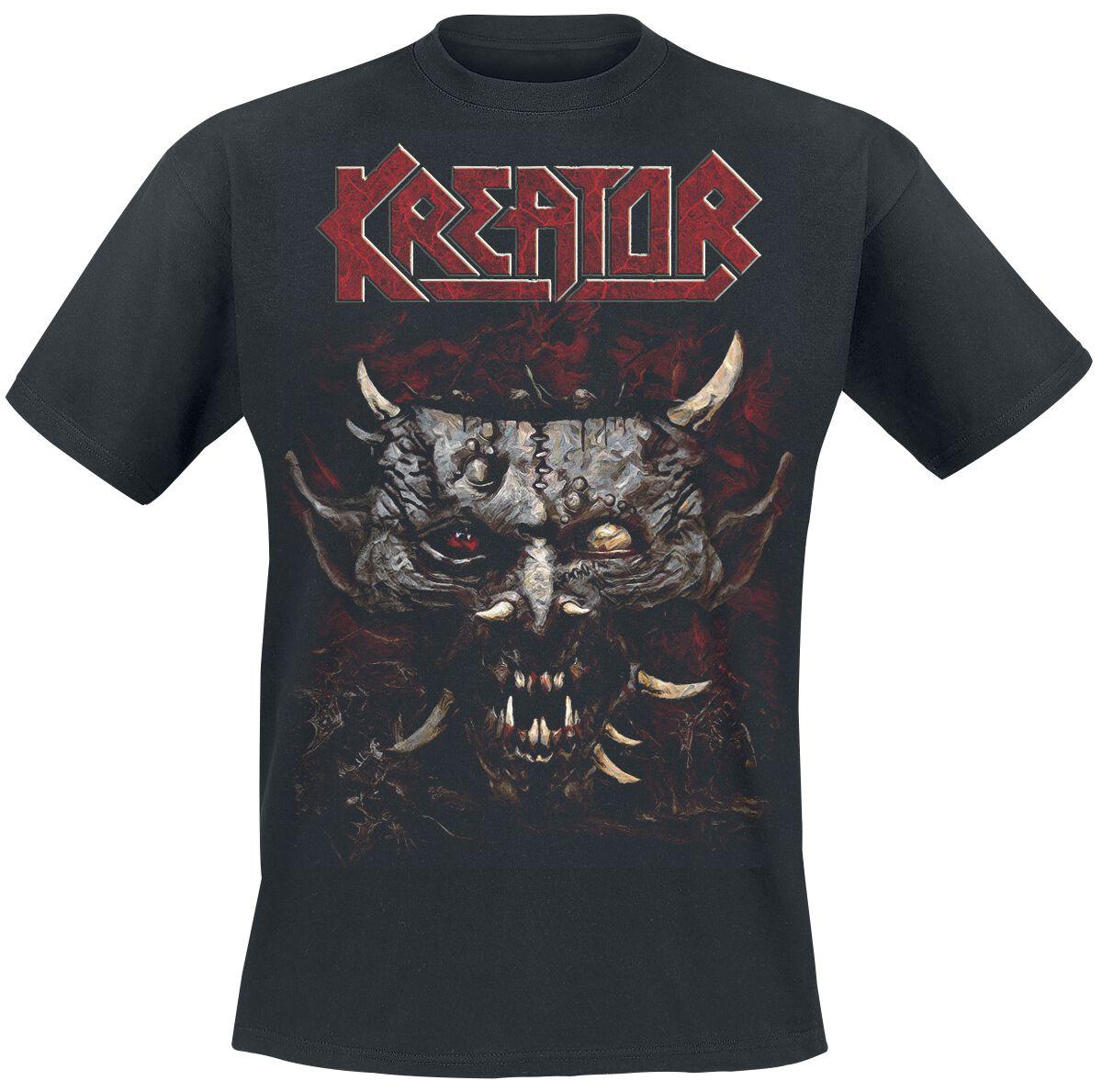 Zespoły - Koszulki - T-Shirt Kreator Satan Is Real T-Shirt czarny - 349154