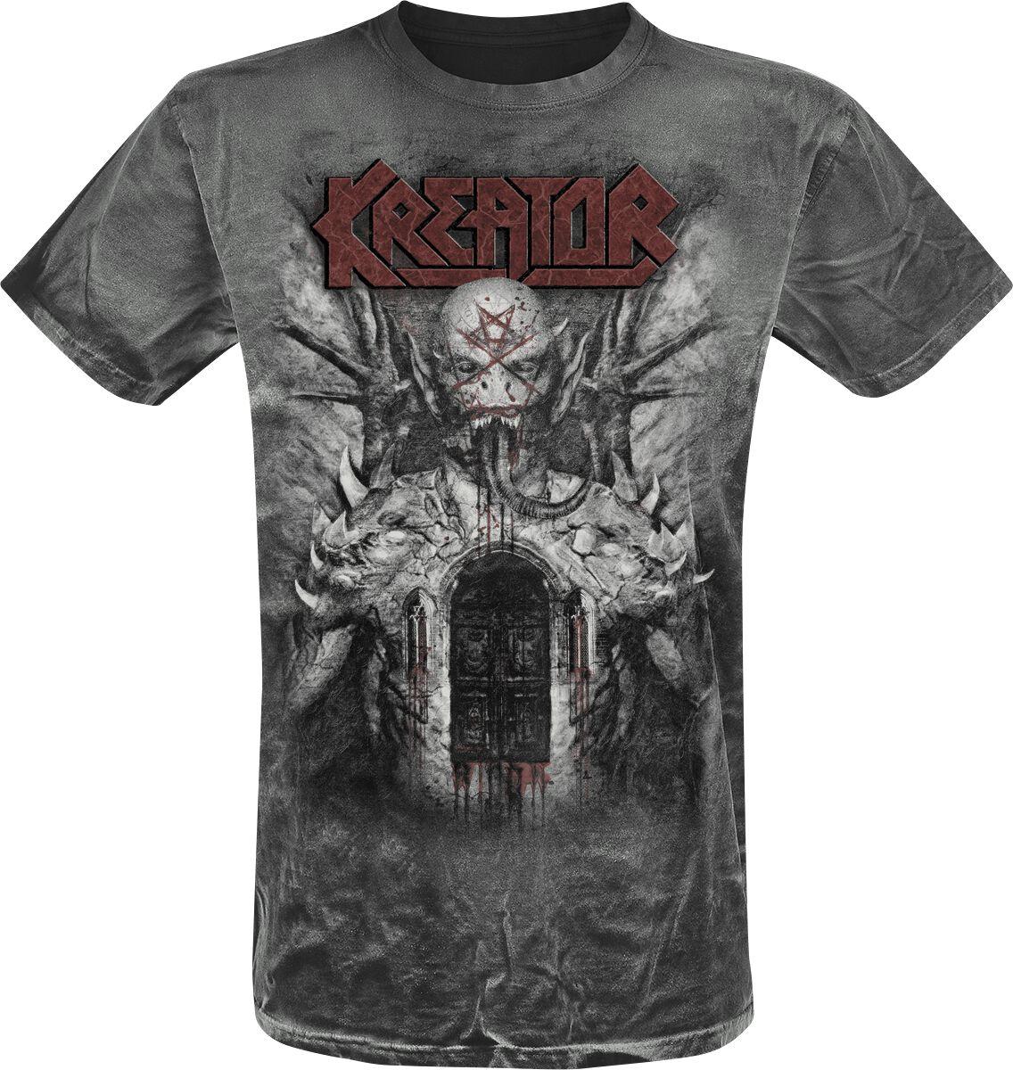 Zespoły - Koszulki - T-Shirt Kreator GoV Vintage T-Shirt czarny - 349161