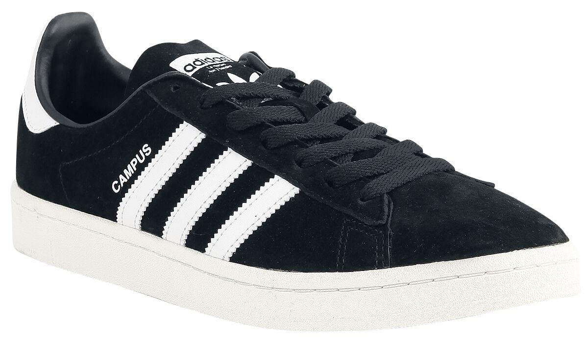 Image of   Adidas Campus Sneakers sort-hvid