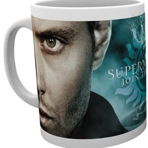 Supernatural Brothers Wrap Mug blanc