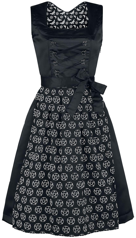 Black Premium by EMP Nightshade Dirndl Kleid sc...