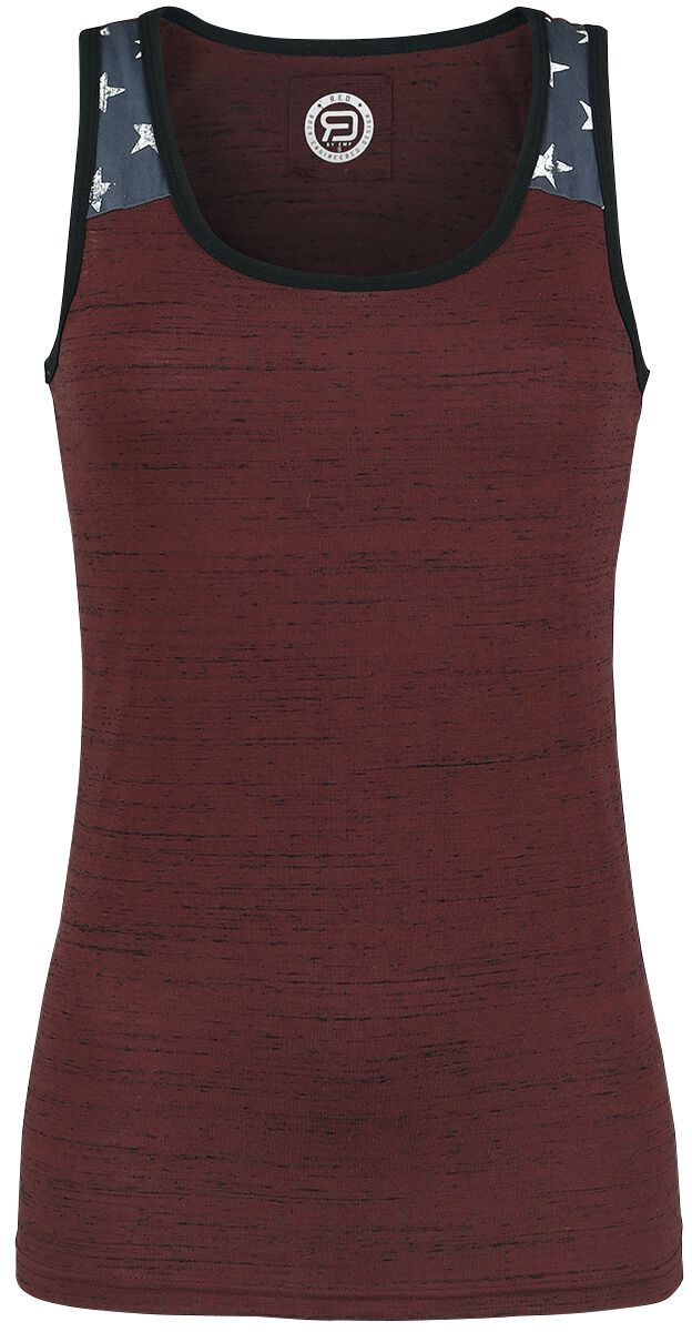Image of   RED by EMP Back On Top Girlie top bordeaux