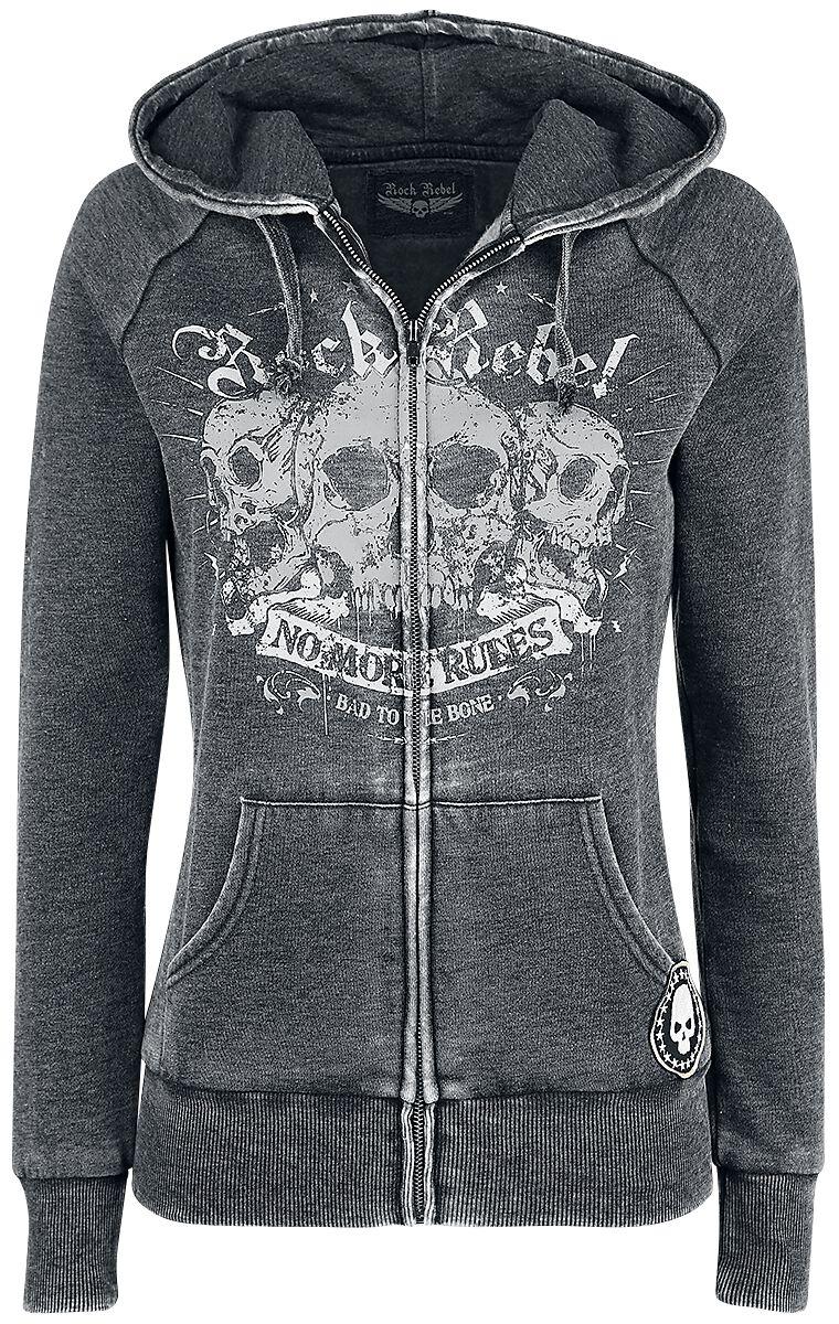 Image of   Rock Rebel by EMP Dark Days Girlie hættejakke grå