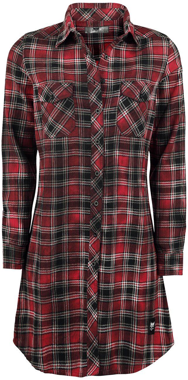 Black Premium by EMP Ace Up My Sleeve Bluzka damska czerwony