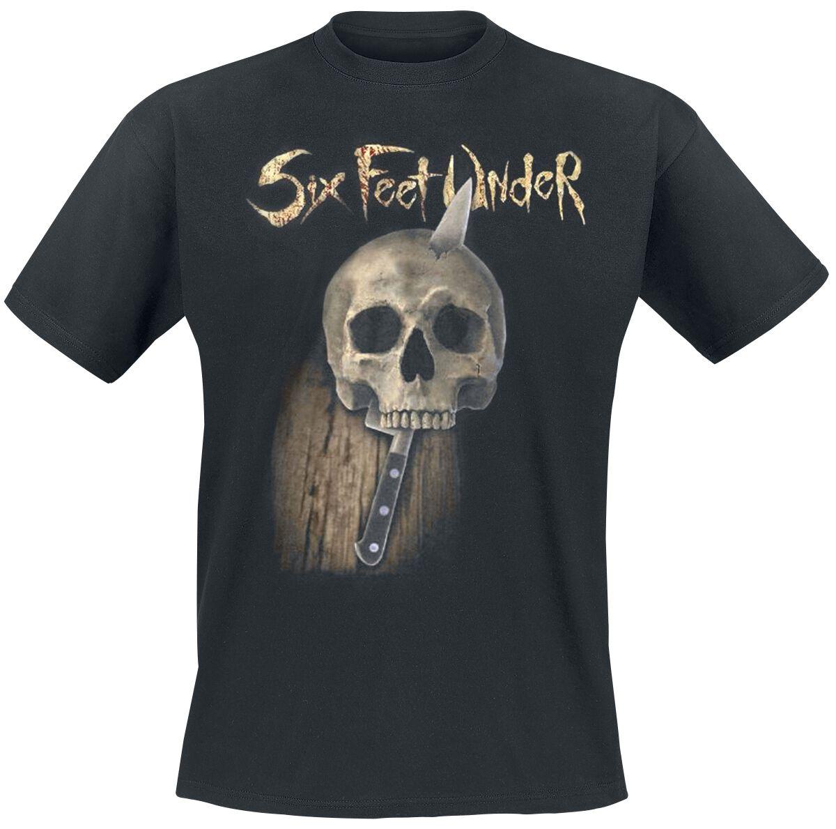 Zespoły - Koszulki - T-Shirt Six Feet Under Torment T-Shirt standard - 349513