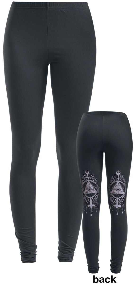 Image of   Gothicana by EMP Divination Leggings sort