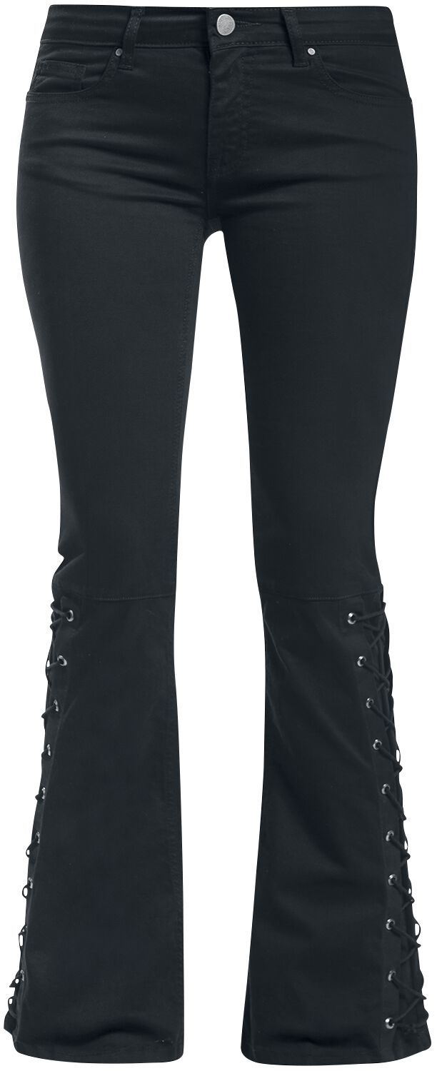 Image of   Gothicana by EMP Grace Girlie jeans sort