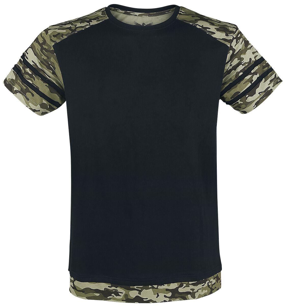 Image of   Black Premium by EMP Ain't No Nice Guy T-Shirt sort