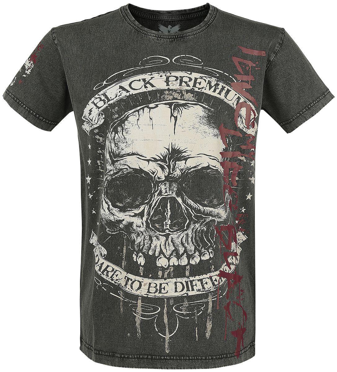 Image of   Black Premium by EMP Constant Danger T-Shirt sort