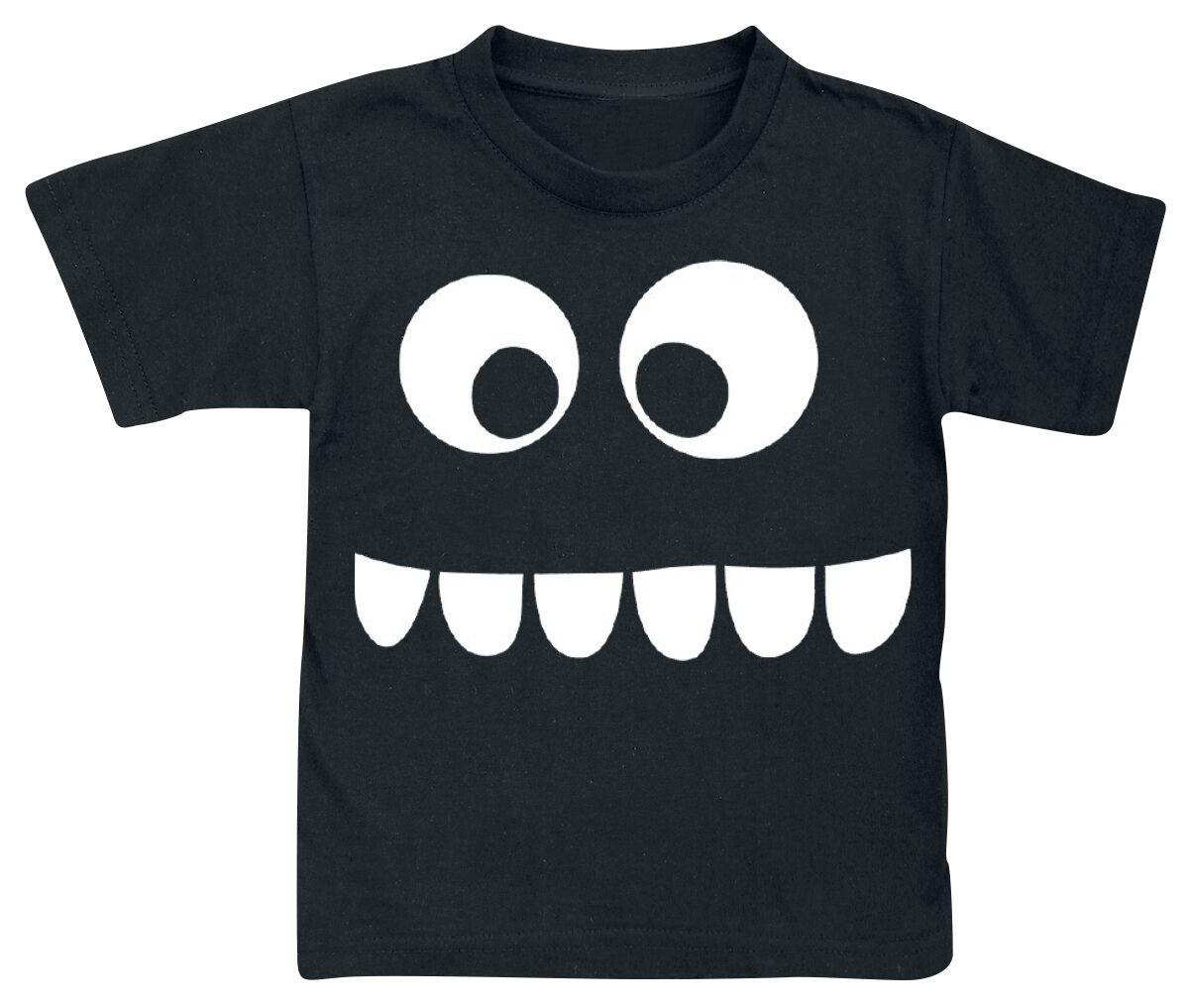 Fun Shirts - Odzież dziecięca i niemowlęca - Koszulka dziecięca Grumpfi Glow In The Dark Koszulka dziecięca czarny - 349691