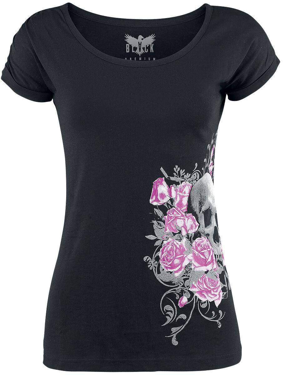 Black Premium by EMP Keep Me Going Koszulka damska czarny