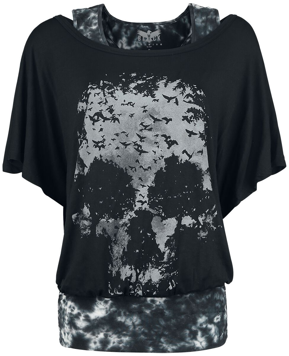 Black Premium by EMP Lost Soul Koszulka damska czarny/szary