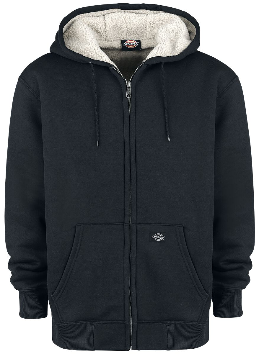 Image of   Dickies Sherpa Lined Fleece Hættejakke sort