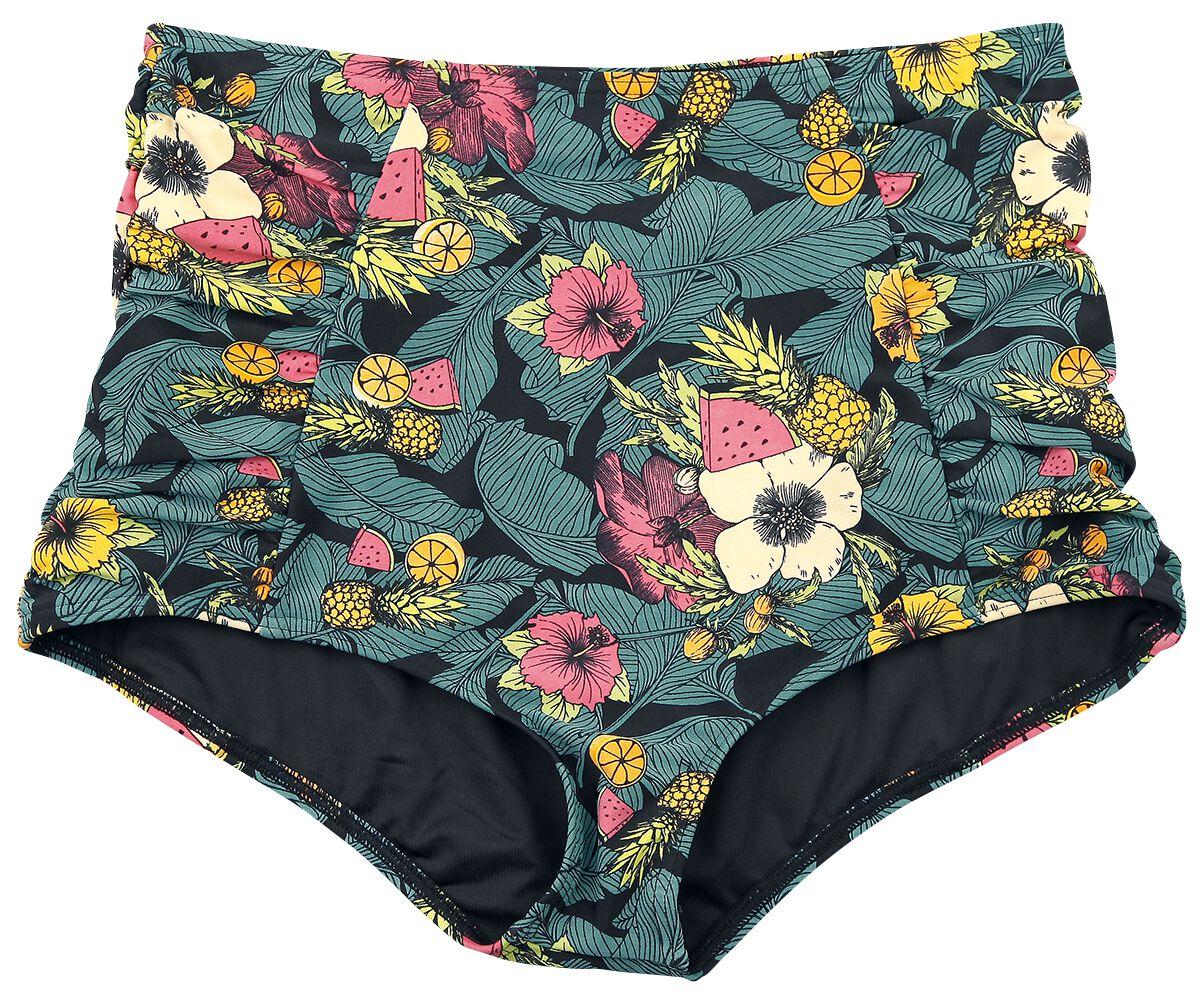 Bademode für Frauen - Dancing Days Tropic Bikini Slip multicolor  - Onlineshop EMP