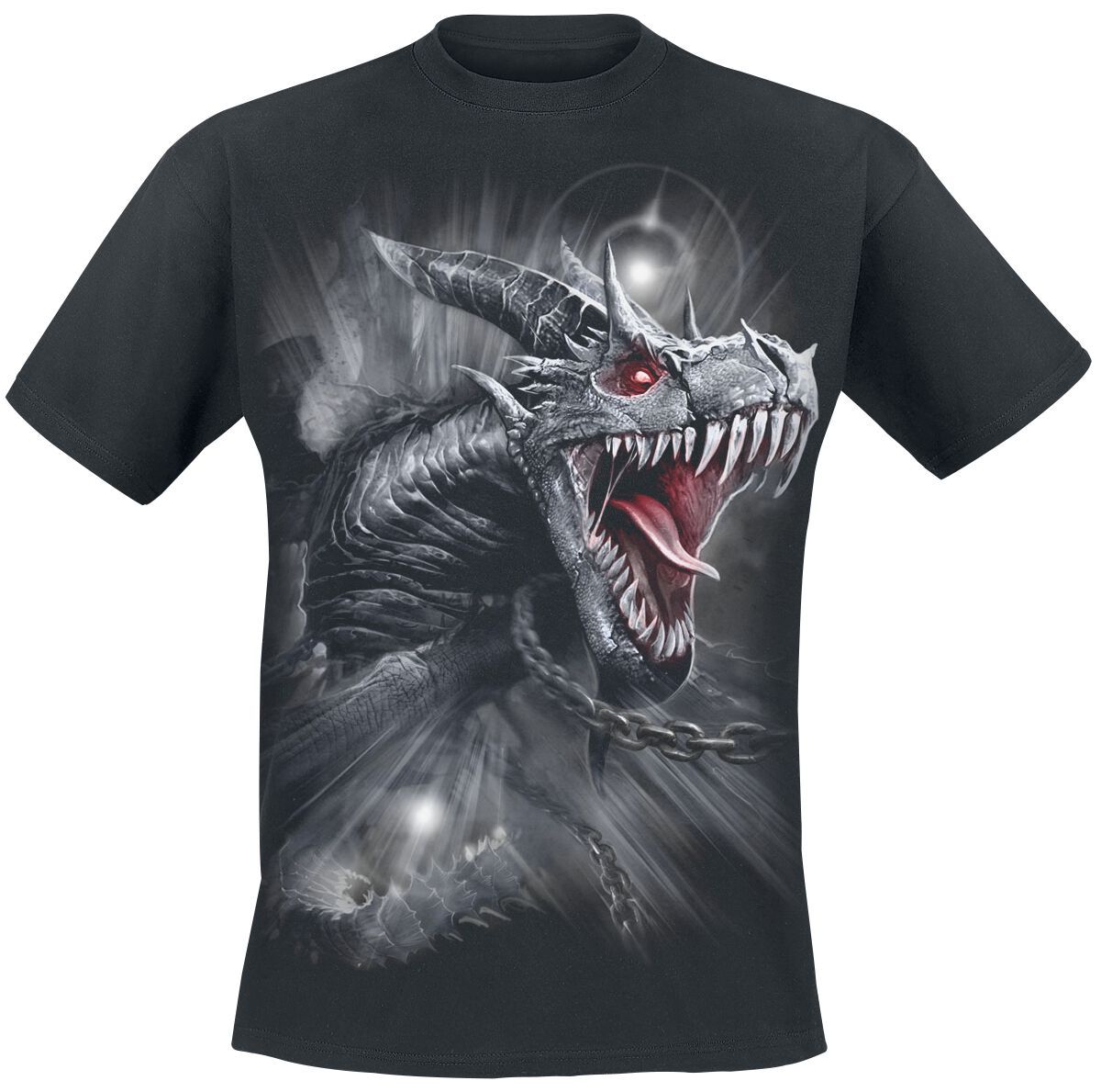 Image of   Spiral Dragon's Cry T-Shirt sort