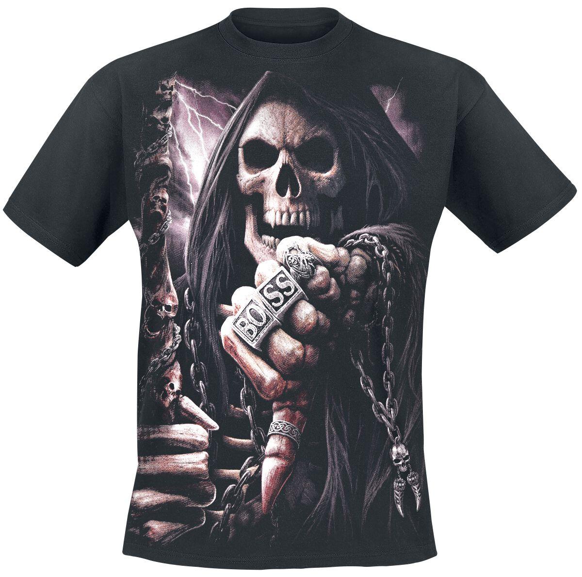 Image of   Spiral Boss Reaper T-Shirt sort