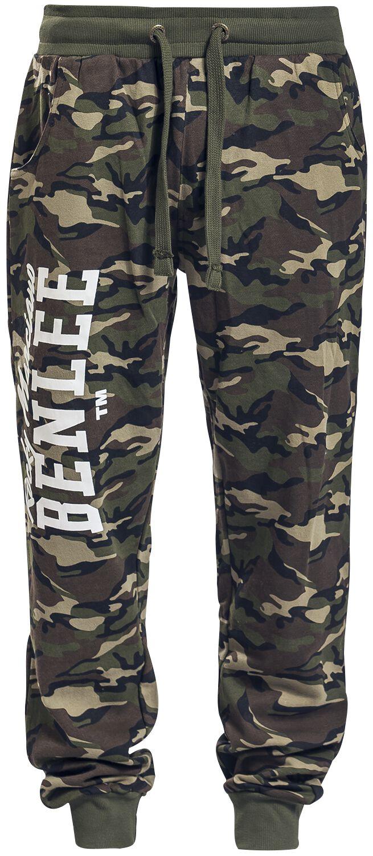 Marki - Spodnie długie - Spodnie dresowe BenLee Fontana Spodnie dresowe kamuflaż - 350271