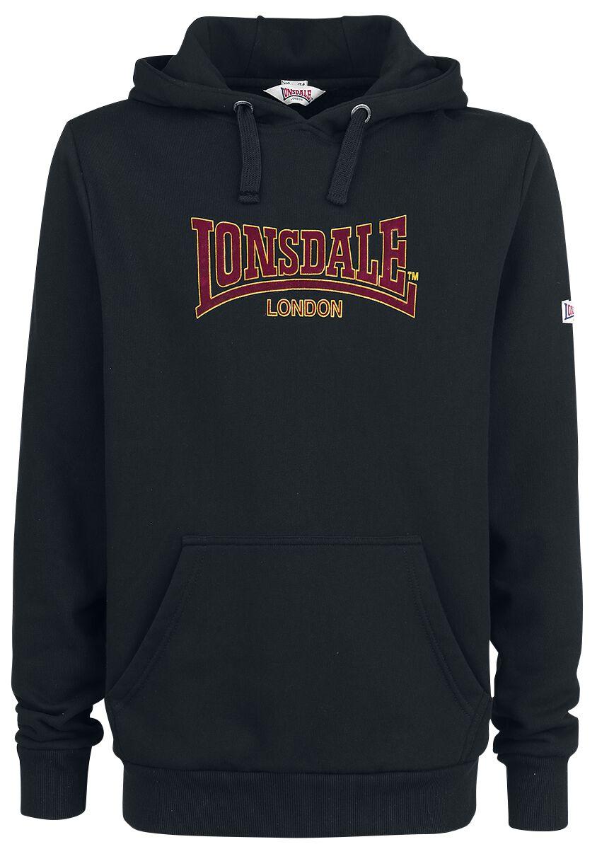 Marki - Bluzy z kapturem - Bluza z kapturem Lonsdale London Brackley Bluza z kapturem czarny - 350301