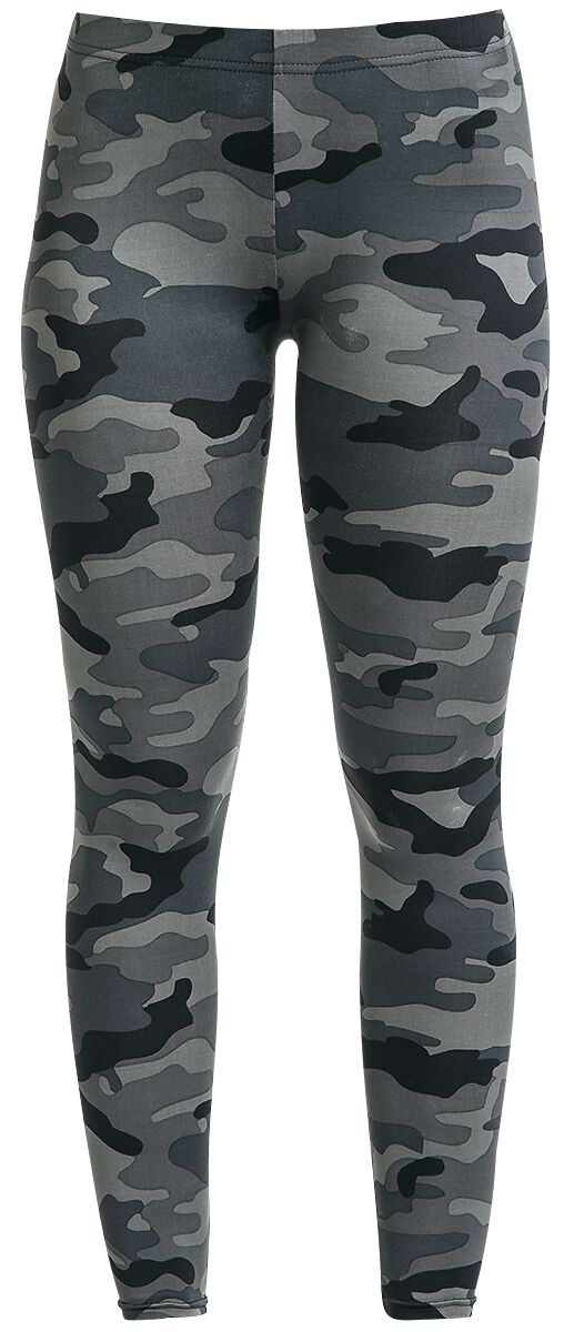 Image of   RED by EMP Camo Leggings Leggings mørk camo