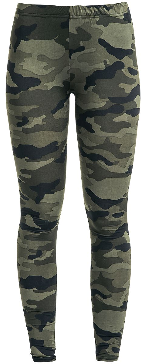 Image of   RED by EMP Camo Leggings Leggings woodland