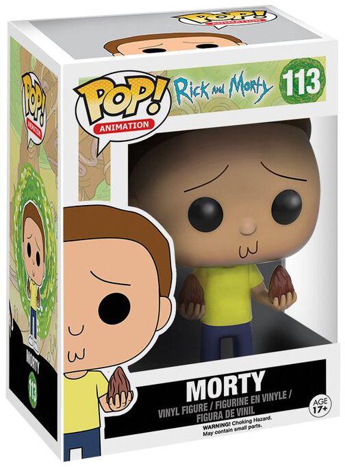 Image of   Rick And Morty Morty Vinyl Figure 113 Samlefigur Standard