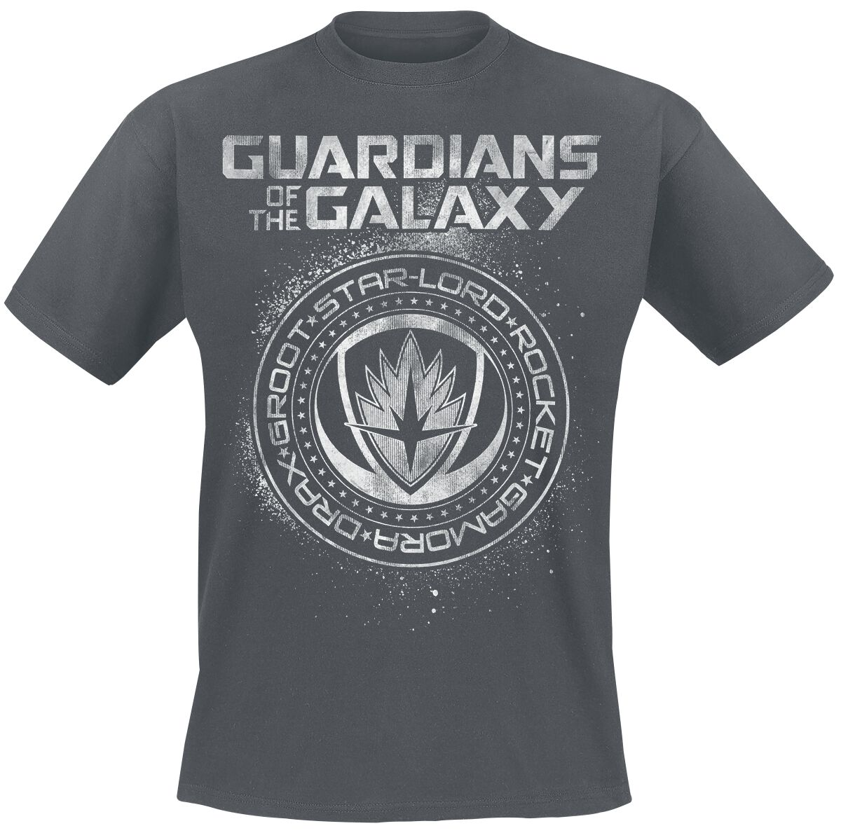 Image of   Guardians Of The Galaxy 2 - Seal T-Shirt mørk grå