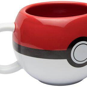 Pokémon Poké Ball 3D Mug rouge/blanc