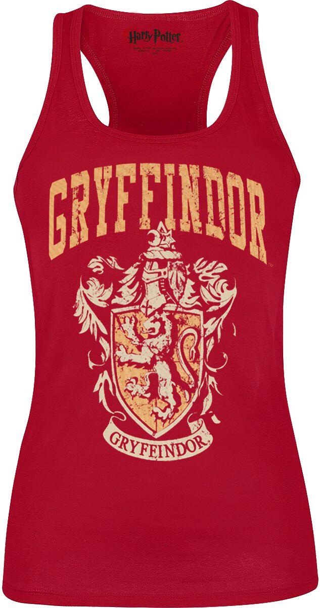 Image of   Harry Potter Gryffindor Girlie top rød