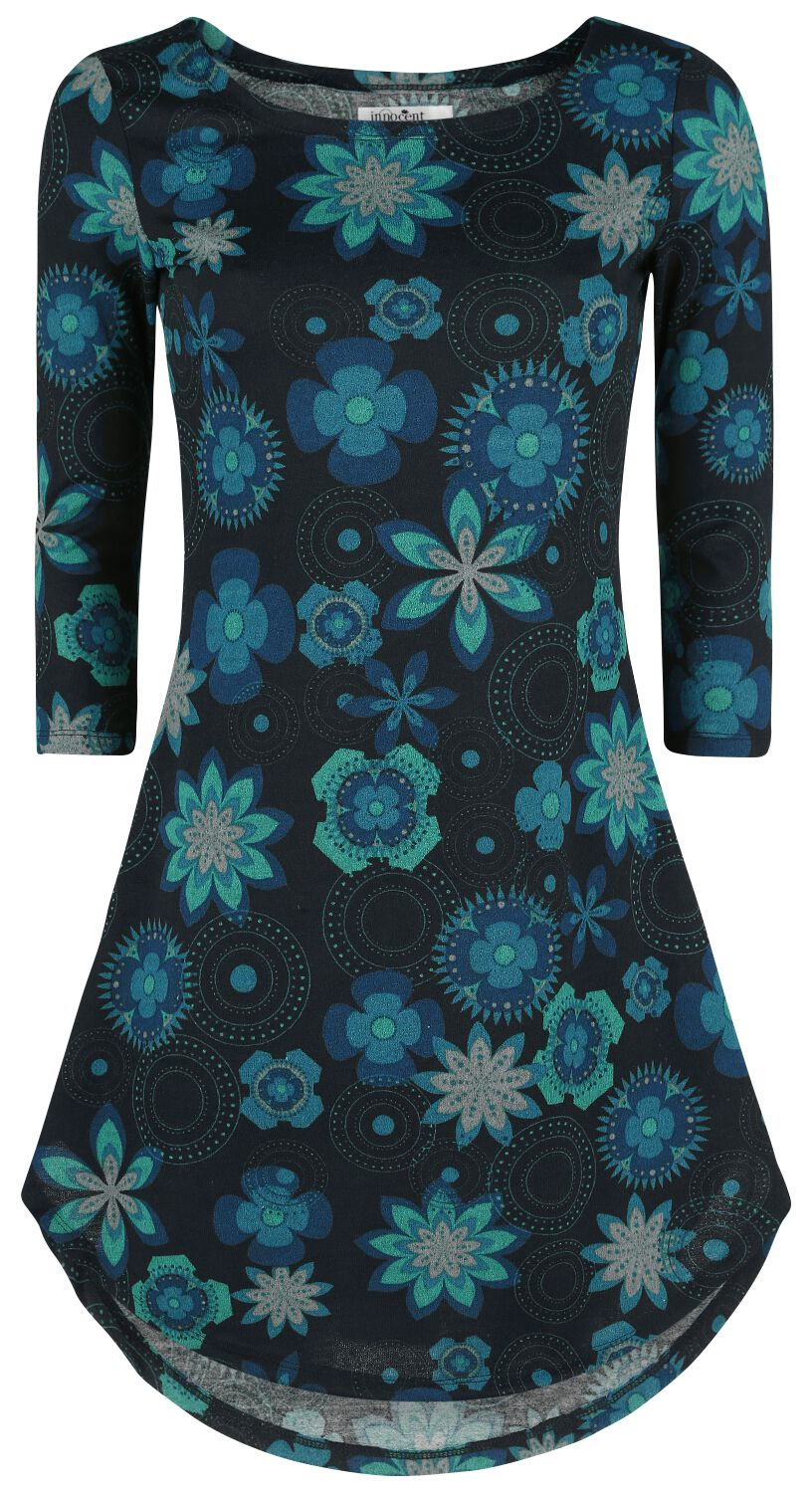 Image of   Innocent Flower Rounds Winter Dress Kjole sort
