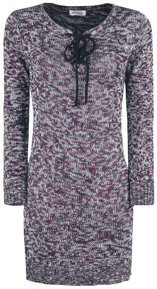 Marki - Bluzy - Sweter damski Innocent Lana Top Sweter damski brązowy - 350598
