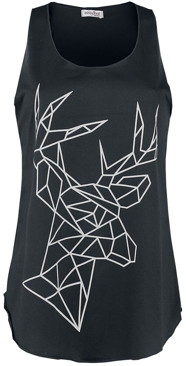 Image of   Innocent Geometric Deer Vest Girlie top sort